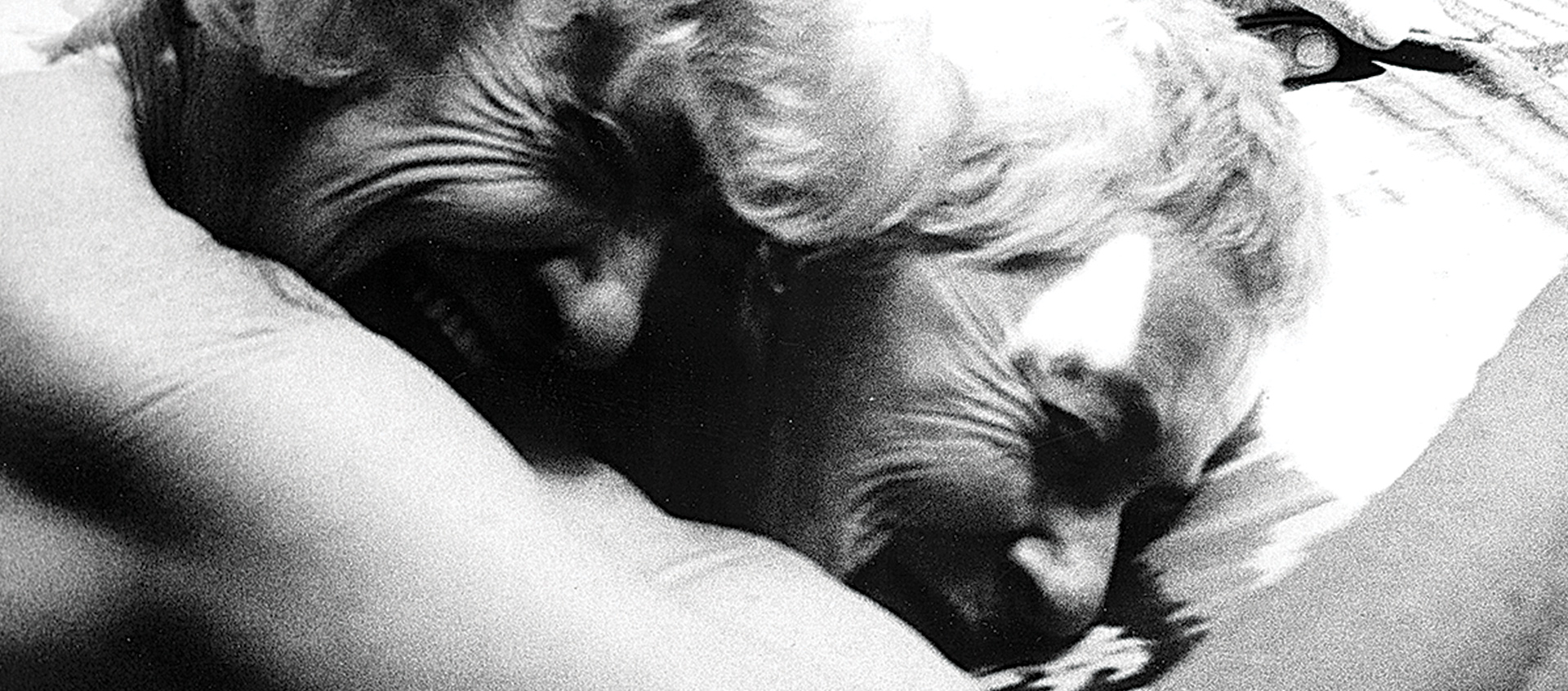 Still from the film Nitrate Kisses by Barbara Hammer
